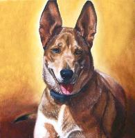 Iconic Dog for Original Pet Portraits in Oil