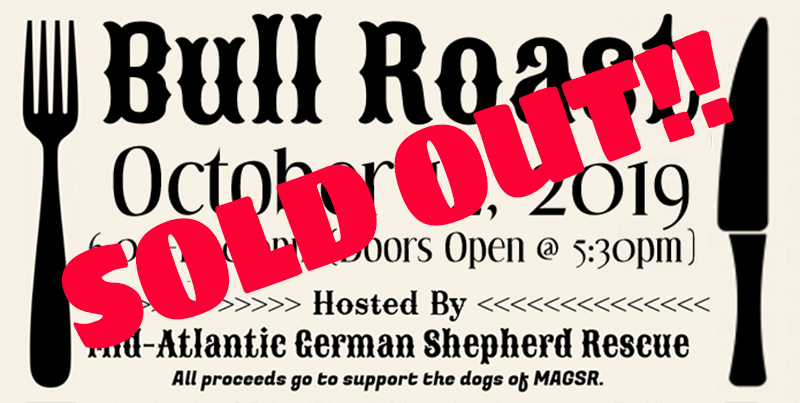 The 2019 MAGSR Bull Roast is SOLD OUT!