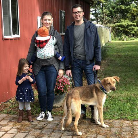 Gunner adopted