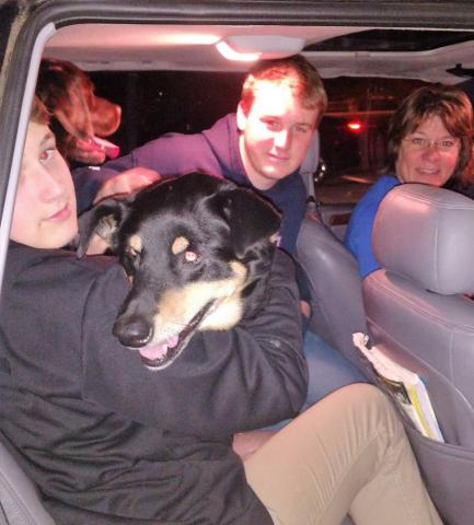 Sally is going home!